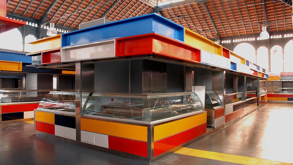 Aranguren gallegos arquitectos atarazanas market - Arquitectos interioristas malaga ...